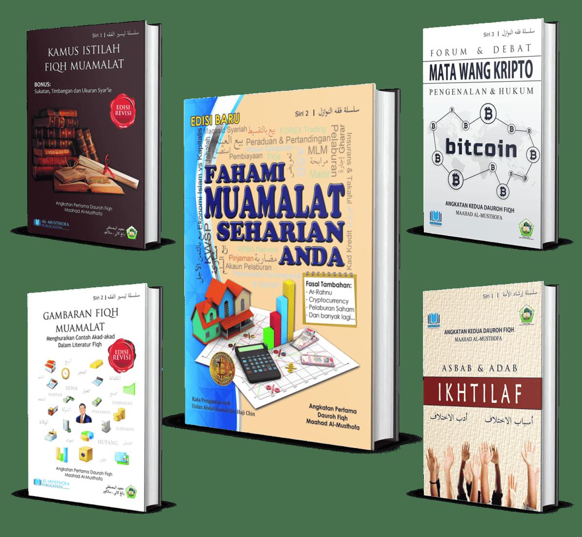 [COMBO] FAMSA & Kamus Fiqh & Gambaran Fiqh & Matawang Kripto & Adab Ikhtilaf
